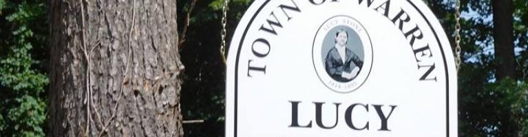 Lucy Stone Park sign